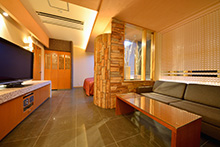 Metal wave for Design hotel iroha